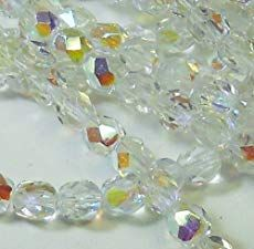 300 Czech Faceted Round Firepolished Crystal Ab Glass Beads 14 Mass Fire Polished ** Check out the image by visiting the link. (This is an affiliate link) Polymer Clay Flowers, Polymer Clay Pendant, Gemstone Beads, Beaded Jewelry, Jewellery, Sewing Crafts, Glass Beads, Arts And Crafts, Jewelry Making