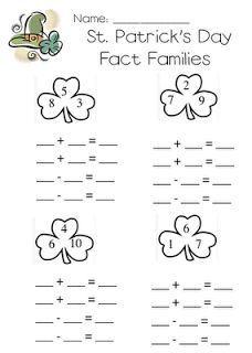 Best Holiday Activities First Grade Fact Families 25 Ideas Teaching First Grade, First Grade Classroom, 1st Grade Math, Teaching Math, Teaching Ideas, Grade 1, Primary Teaching, Preschool Math, Math Class