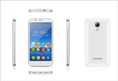 JACKLEO Spirit JL460  Smart Phone  MT6572 ( dual-core 1.0Ghz Processor)   125.6*64.6*8.7mm 4.5''  1400mAh  Guest mode ( 2 mode ) Dual sim dual standby 512MB+4GB Memory  Front 0.3MP Back 2MP with three flash light Camera  FWVGA,480*854 Display     Heart rate detector  Quick gesture entry World fastest shooting mode Knock on function Air gesture 4 ways  Beauty face shooting  Real face detection unlock Smart screen ( eye control ) Black white 36 languages