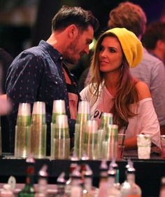 Audrina Patridge yellow beanie