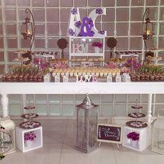 Mesa de postres boda C&A