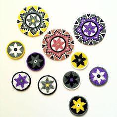 Coasters hama bead by  reginehoen