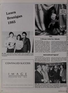 Laura 1985, Cashbox magazine