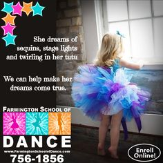 Hope to see you at Dance Registration Thursday August 22nd - 3:30-6:30PM 18 S Jackson (behind the Post Office) - Farmington Dance shoe fitting & dancewear available Save your spot in class by registering online! Don't forget, you can still pin this for a chance to win one of 3 prizes on September 30th! #FSDance http://www.farmingtonschoolofdance.com