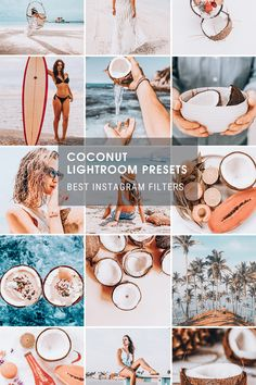 Photography For Beginners, Blue Skies, Beach Scenes, Lightroom Presets, Green Leaves, Portrait Photography, Photo Editing, Powder, Aqua