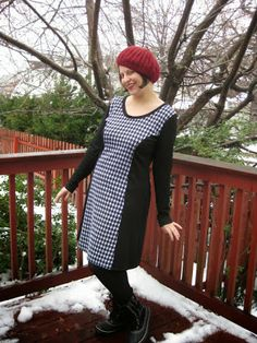 Handmade By Heather B: The Penny Pinafore - a New Pattern from Kitschy Coo