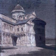Olga Boznańska / Katedra w Pizie / oil on canvas 50 x 50 cm / ok. 1905 / Muzeum Narodowe Kraków