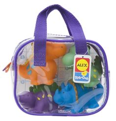 TravelKiddy - Dino Bath Squirters, $9.99 (http://www.travelkiddy.com/dino-bath-squirters/)