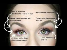 DROOPY EYES MAKEUP!  EASY FIXES FOR INSTANT EYELIFT! - YouTube