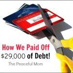 Reader Success: We Paid Off $29,000 in Debt!