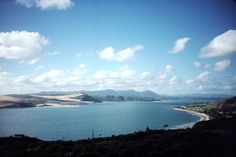 Omapere, Northland, New Zealand .. Looking back up the harbour towards Opononi & Koutu Point.