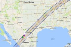 Eclipse 2024 Eclipse Will be Visible in Texas, in Case You Missed it Today - If you missed the total eclipse today, worry not. The next one is just six years away, and will cut a path right through Texas. 2024 Eclipse, Total Eclipse, Kansas Missouri, Kansas City, Online College, Our Solar System, New Mexico, 6 Years, Illinois