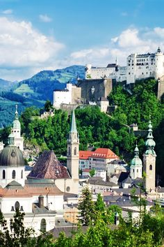Hohensalzburg Fortress in Salzburg. Austria   Amazing Photography Of Cities and Famous Landmarks From Around The World