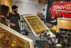 Printed Shirts, Screen Printing, Prints, Screen Printing Press, Silk Screen Printing, Screenprinting, Printed Tees