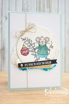 Merry Mice Stitched Framelits ~ Susan Wong