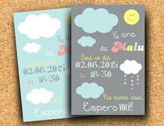 Convite - Tema chuva