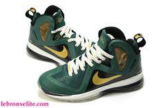 Cheap Nike Lebron 9 P.S Elite Svsm Custom Green Black Metallic Gold  Basketball Shoes Description Cheap LeBron 9 P.S Elite - Svsm Custom Green  Black Metallic ... 1b1721664
