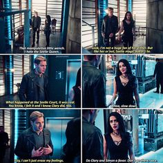 "#Shadowhunters 2x15 ""A Problem of Memory"" - Jace and Izzy"
