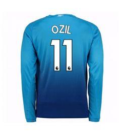 Arsenal Mesut Ozil 11 Udebanetrøje 17-18 Langærmet