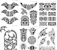 Polynesia Maori Haida Marquesan Borneo Pintados For Personal