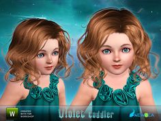 Newsea Violet Toddler Hairstyle