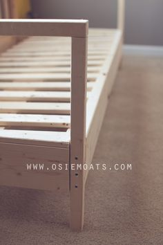 This is neat ... just not sure if me hubby would approve since it doesn't recline :) DIY COUCH. How to build your own couch. #diy #furniture     www.osiemoats.com