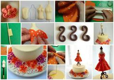 Tailors dummy cake tutorial
