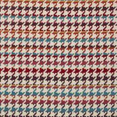 Warwick Fabrics : HOUNDSTOOTH> city chic, living?