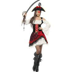 Glamorous Lady Pirate Costume