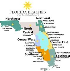 Destin Florida On Map.Florida Map Of All Beaches Click On An Area And A Thorough