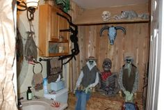 """""""Outhouse"""" Halloween Skeletons, Halloween Themes, Halloween Decorations, Halloween Party, Summer Camp Themes, Camping Theme, Ghost Towns, Wild West, Creepy"""