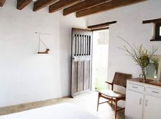 D'une Île: A Rustic Retreat in Normandy with Cottages to Rent - Remodelista Design Hotel, House Design, Spanish Interior, Entrance Design, Duplex, Double Room, Luxury Holidays, Building Materials, White Walls