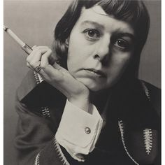 Carson McCullers, 1961, by Irving Penn