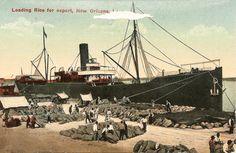 new orleans docks postcard - Google Search
