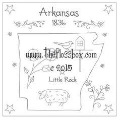 The Floss Box | Arkansas Embroidery
