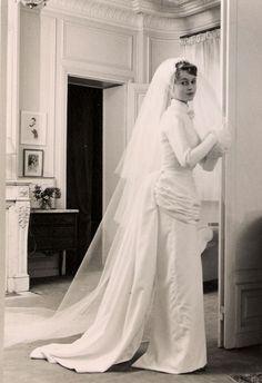 Vintage bride #vintagewedding