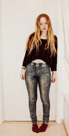 Jeans & Sweater