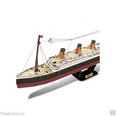 Paper Toy Scale Model Kit for Kids Adult - The Titanic