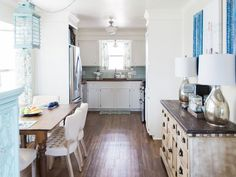 Blogger Kaylor Little of Fisherman's Wife Furniture looked at the bare bones kitchen in her home and saw an opportunity to add personality and character.