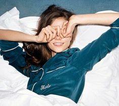 etam pyjama pyjama pilou femme, pyjama femme satin bleu