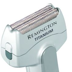 Remington Shaver Electric Dry Trimmer MSC-140 Men's Titanium Battery Operated Foil Travel Shaver, Silver ** Special  product just for you. See it now!