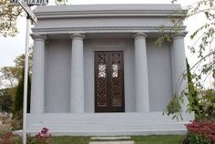 View our classic mausoleum gallery. Learn about the The Ives Mausoleum. From Forever Legacy, America's Premiere mausoleum builders. Forever Life, Site Design, Old World, Taj Mahal, Exterior, Architecture, Gallery, Building, Twilight
