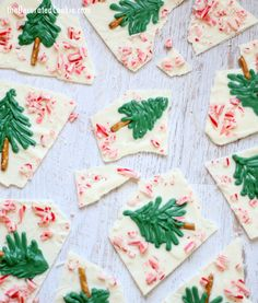 Peppermint white chocolate Christmas tree bark is all you need ever. And some gifts. And some spirit. And maybe hot cocoa. Given how well my snowman chocolate bark, I thought I'd give you another idea: Christmas tree bark. Because I heart Christmas trees, in all their needle-shedding glory. The day after Thanksgiving we go...Read More »