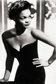 Eartha Kitt, 1955.
