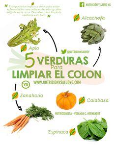 Es importante limpiar tu #colon para evitar enfermedades como cáncer de colon y colon irritable entre otras. Descubre como limpiarlo mediante esta lista. #Nutrición y #Salud