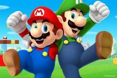 Mario & luigi - mario bros mascot costume - little shop of horrors costumery - costume Super Mario Land, Super Mario World, Mundo Super Mario, Super Mario Bros Games, Super Mario Brothers, Mario Kart, Mario Y Luigi, Mario Run, Donkey Kong