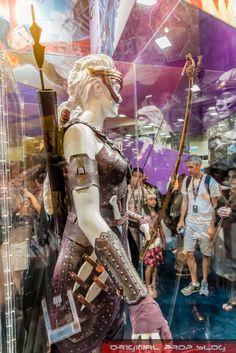 Antiope Wonder Woman armor photo by OriginalProp at SDCC 2016
