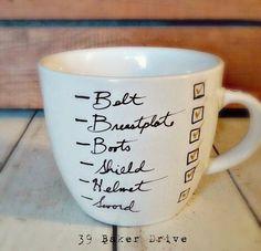 Bible Verse Coffee Mug, Custom Mug, Ephesians 6:14-17, Mugs with Quotes, Warrior, The Armor of God, Christian Gift, Free Personalization