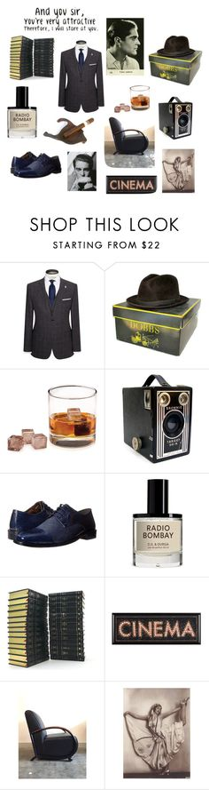 """""""And you sir, you're very attractive"""" by wonderdiva ❤ liked on Polyvore featuring Ted Baker, Stacy Adams, men's fashion and menswear"""