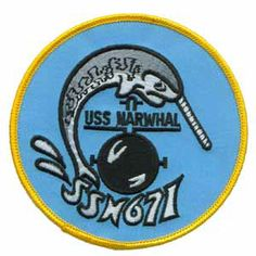 uss narwahl | USS Narwhal SSN-671 Patch
